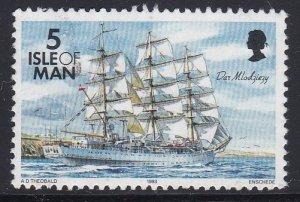 Isle of Man #534 F-VF Used Dar Mlodziezy