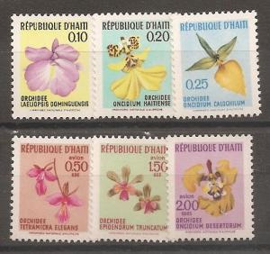Haiti SC 631-3,C354-6 Mint, Never Hinged