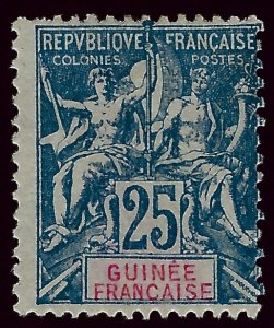 French Guinea Sc#11 Fine Unused SCV$24 ..Buy before prices rise again!