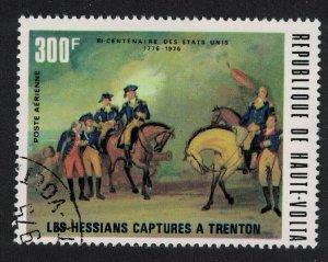 Upper Volta America Capture of Trenton 1976 CTO MI#573 SC#210