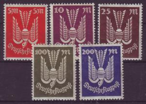 GERMANY Reich 1923 Mi# 263-267 MNH (1004)