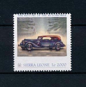 [76412] Sierra Leone 2010 Classic Cars Packard 1936 Type Twelve MNH