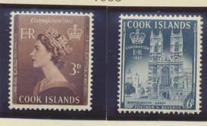 Cook Islands Stamps Scott #145 To 146, Mint Hinged - Free U.S. Shipping, Free...