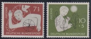 Germany B348-B349 MNH (1956)