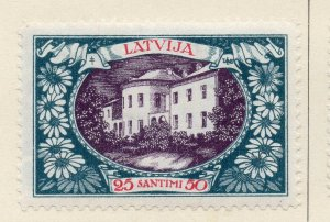 Latvia 1930 Early Issue Fine Mint Hinged 25s. NW-07375