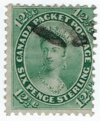 (I.B) Canada Postal : Colony of Canada 12½c (SG 41)