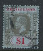 Straits Settlements George V  SG 210 Used