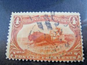 U.S. SCOTT #287    Used   (kb287)