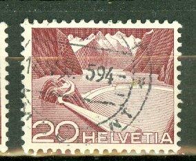 P: Switzerland 332c used CV $67.50