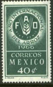 MEXICO 973 FAO, International Rice Year. MINT, NH. VF.