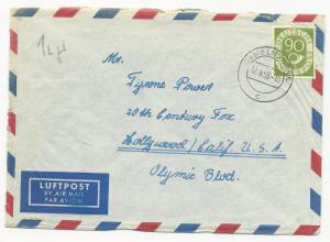 Germany Scott #685 on Cover Air Mail September 12, 1953
