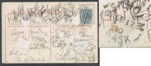 Canada #5666 - 1c Edward-Denholm,Alta-De 17 1910-