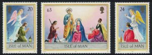 Isle of Man Christmas 3v SG#765-767