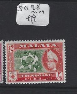 MALAYA  TRENGGANU   (PP1605B)  SULTAN  $2.00   SG 98   MOG