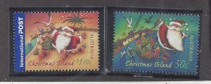 Christmas Island 465, 466 Christmas 2007 MNH