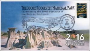 16-414, 2016, Theodore Roosevelt National Park, Pictorial, NPS Centrnnial