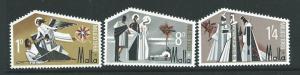 MALTA SG409/11 1968 CHRISTMAS MNH