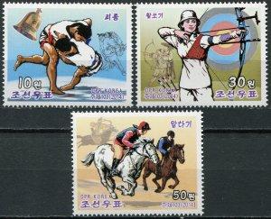 Korea 2014. Traditional Competitions (MNH OG) Set of 3 stamps