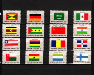 UNITED NATIONS 450-465 MNH 2019 SCOTT SPECIALIZED CATALOGUE VALUE $4.80