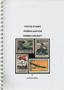 (I.B-CK) Cinderella Catalogue : Poster Stamps : German Aircraft & Aviation