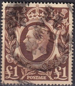 Great Britain #275 F-VF Used CV $20.00  (Z4600)