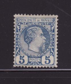 Monaco 3 MH Prince Charles III
