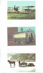 Canada .08 Postal Cards, 5 Dif. With Scenes From National Postal Museum Mint