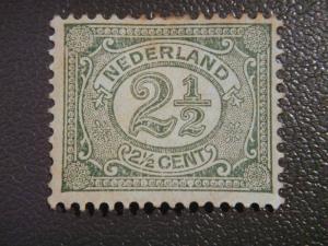 Nederland-1898 2&half c MH SG 172 £ 3.75