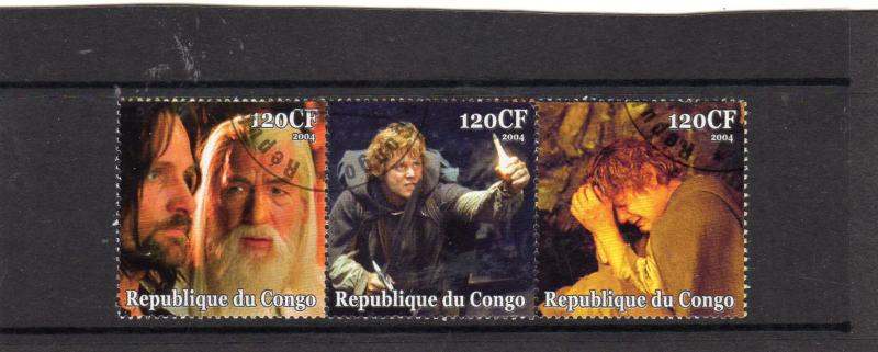Congo Lord of the Rings  MNH