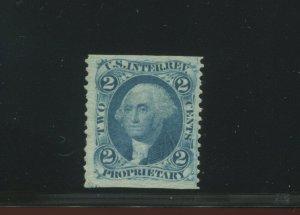 Scott R13b Revenue Part Perf Scarce Unused Stamp (Stock R13-A1)