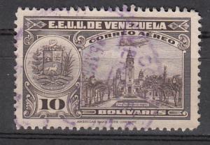Venezuela SC# C236  1947 10b Pantheon Airmail used