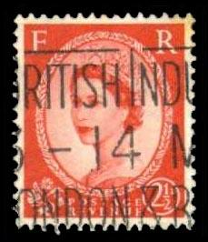 Great Britain #296 Queen Elizabeth II, used (0.25)