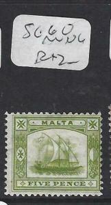 MALTA (PP1303B)   5D  BOAT    MNG