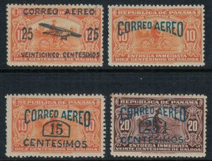 Panama #C1-4* CV $3.60