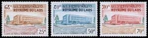 Laos Scott 145-147 (1967) Mint NH VF Complete Set W