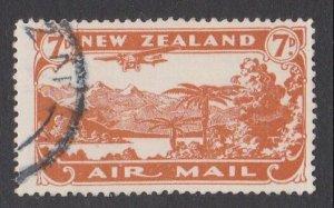 NEW ZEALAND 1931 7d airmail fine used - ACS cat NZ$30.......................M424