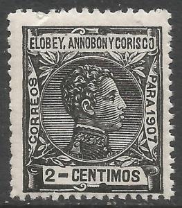 ELOBEY, ANNOBON Y CORISCO 40 MNH Z4699
