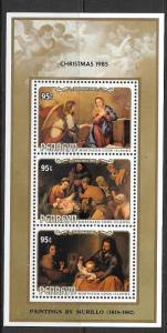 PENRHYN ISLAND SGMS389 1985 CHRISTMAS MNH