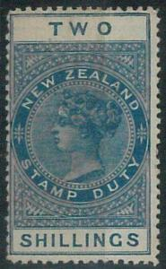 74193 - NEW ZEALAND - REVENUE  STAMP:  Stanley Gibbons # F46  - New MINT *