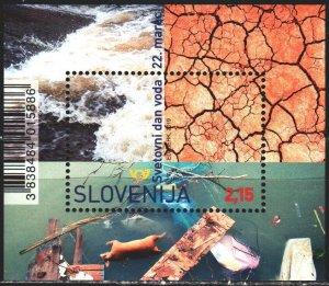 Slovenia. 2019. bl 116. International Year of Water. MNH.