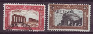 J17220 JLstamps 1926 italy used #b26-7 designs