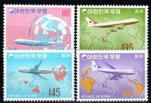 Korea #C39-42 MNH CV $50.50 (X9676)