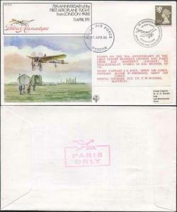 FF29a 1st Aeroplane Flight from London - Paris Standard Cover
