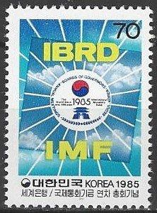 South Korea 1443  MNH  World Bank