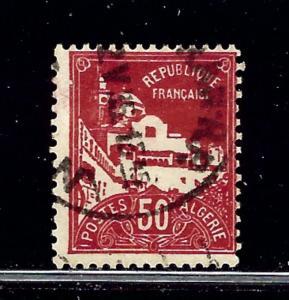 Algeria 50 Used 1930 issue
