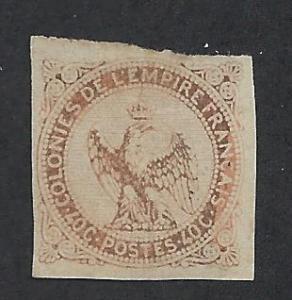 FRENCH COLONIES SC# 5 F-VF U 1859