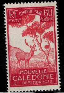 New Caledonia (NCE) Scott J28 MH* postage due stamp