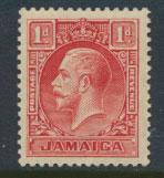 Jamaica  SG 108 Die I - Mint very light trace of hinge set   see scan and det...