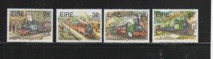 IRELAND #956-959  1995  NARROW GAUGE RAILWAYS    MINT  VF NH  O.G