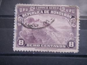 HONDURAS, 1943, used 8c, Rosario Scott C132